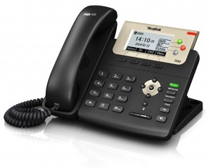 At Telnexus, the Yealink T23g is our most popular desk phone.