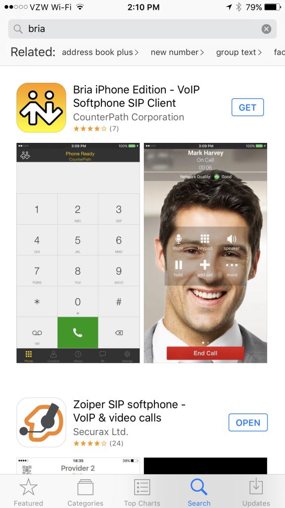 Download Bria Softphone
